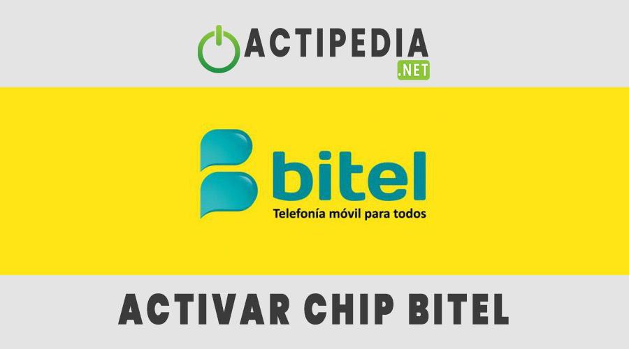 como activar un chip bitel