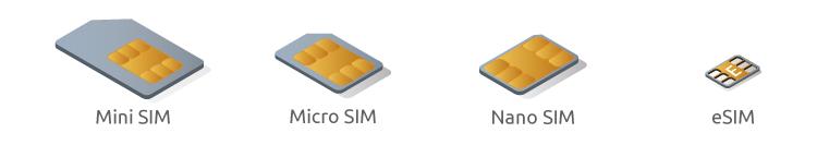 tipos de chip telcel