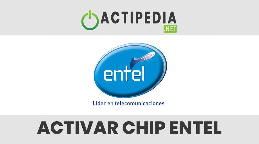 como activar un chip entel