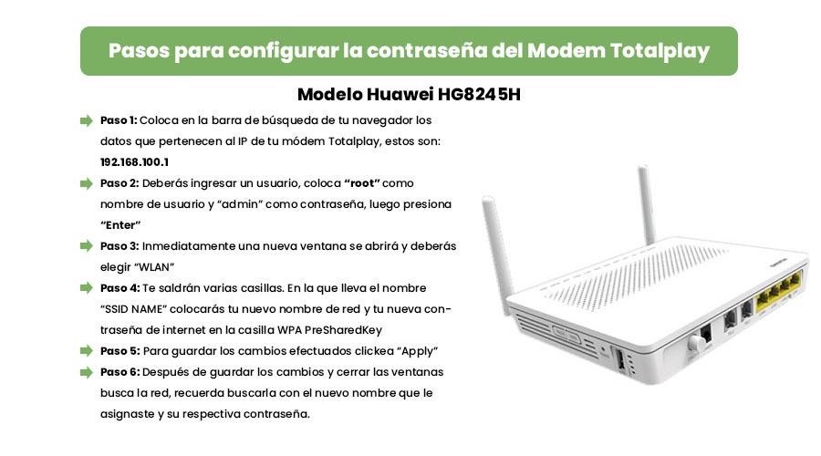 como configurar y cambiar la contraseña del modem totalplay