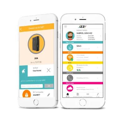 configurar modem izzi con app
