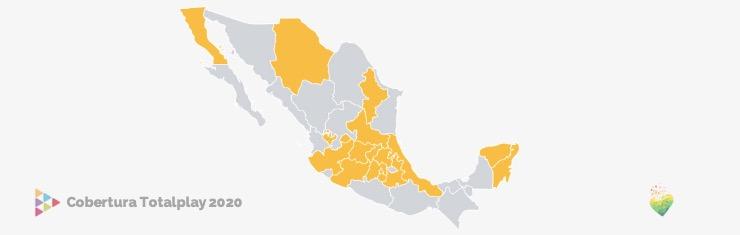 mapa de cobertura totalplay