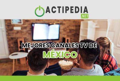Canales de TV de México