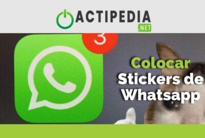 Cómo poner stickers en estados de WhatsApp