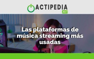 Las plataformas de música streaming más usadas